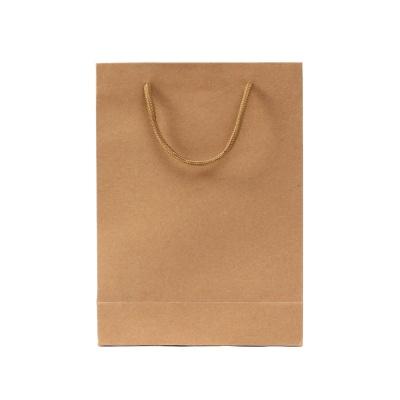 무지 세로형 쇼핑백(브라운)(20x28cm)