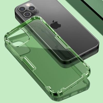 아이폰12 PRO MAX MINI 슬림 투명 컬러 실리콘 케이스