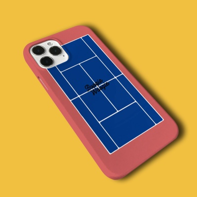 슬림하드 케이스 스마트톡 세트 - 테니스 블루