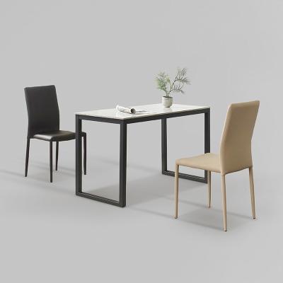 클레 세라믹 마블 식탁 세트A 1200 + 의자 2개포함 (
