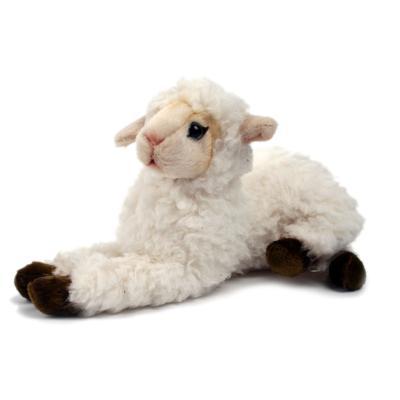4773번 어린양흰색 Lamb Laying White/23*12cm