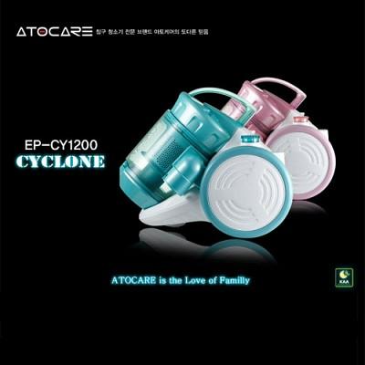 [진공청소기]아토케어 진공청소기 EP-CY1200 / 사이클론 청소기, 일렉파워전자