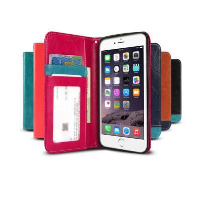 투톤 포인트 카드수납 다이어리(아이폰6플러스/5.5)