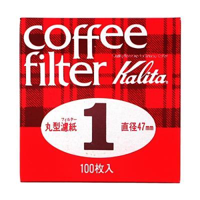 Whatcoffee칼리타 라운드 필터1 47mm 100매
