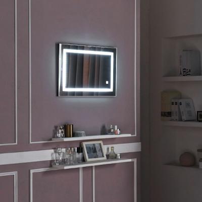 [Ldlab] 시크릿 LED 터치 사각 벽걸이 거울
