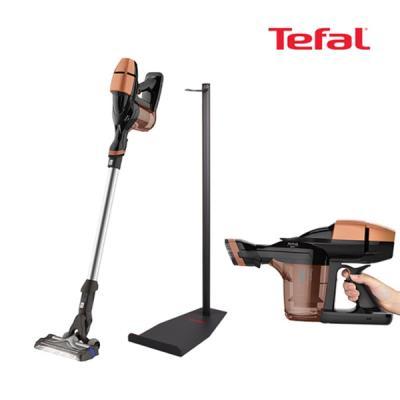 테팔 에어포스360 에센셜무선청소기 골드 거치대포함