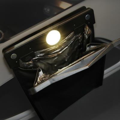 메이튼 차량용 LED 쓰레기통 자동차 휴지통 앞좌석용