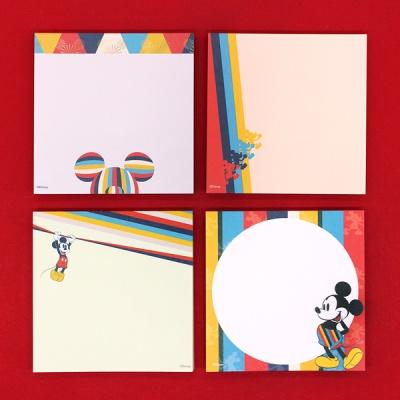디즈니 미키마우스 색동 떡메모지