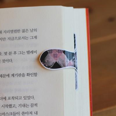 [자석자동책갈피] 자동책갈피 수지인M : 별이상상(블랙)