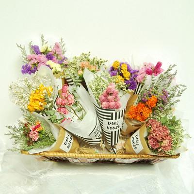 두쓰하우스 드라이플라워 꽃다발