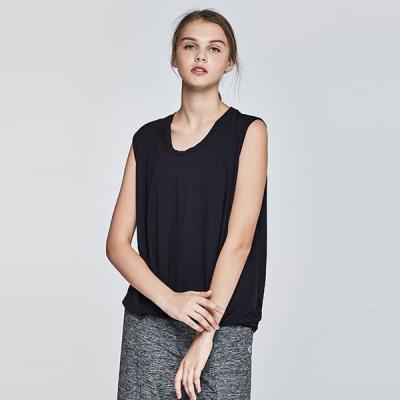 [TS7050 블랙]여성 필라테스운동복 서플렉스 반팔 요가복
