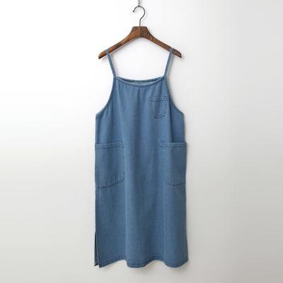 Summer Denim Overalls Dress