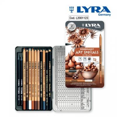 LYRA-리라 아트스페셜 드로잉 연필(12종)  입시 소묘