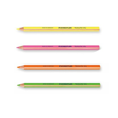 스테들러 텍스트서퍼 드라이 128 64 형광 색연필[00032111]