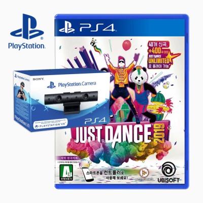 PS4 저스트댄스 2019 한글판 + PS4 카메라 (더블팩)