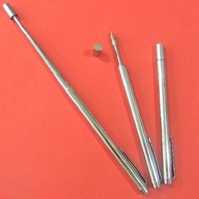 63Cm로 재색을 겸비한 볼펜 겸용 안테나형 은색 지시봉 E163