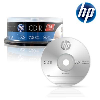HP 공CD-R 700MB 52x 케익 25장