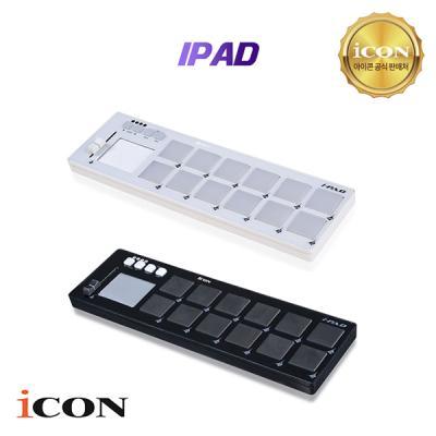 [iCON] 미디 패드 컨트롤러 IPAD (BK / WH) 아이패드 Midi Controller