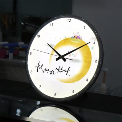 ng155-LED시계액자35R_시간명언