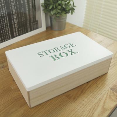 홈가든 우드 수납 박스(Storage)