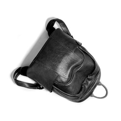 투카스 가죽 백팩/ 심플 데일리 여성가방