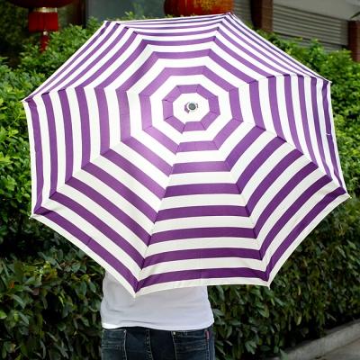 스트라이프 3단 우산 / 접이식 패션우산