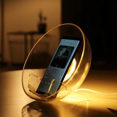 LED 고속무선충전 스마트폰 거치대