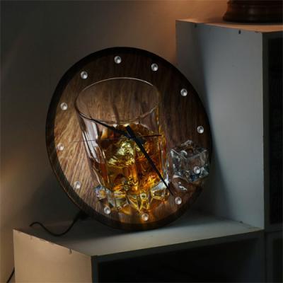 ng203-LED시계액자35R_여유와품격브랜디