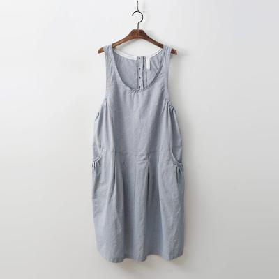 Cotton Check Tank Dress