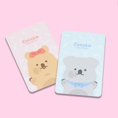코코카 귀여운 캐릭터 미니 카드커울