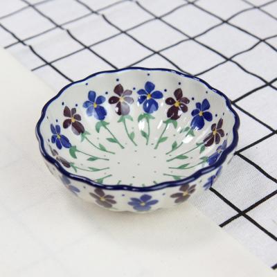 폴란드그릇 아티스티나 찬기 프릴볼 소 패턴2178