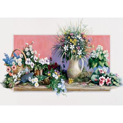 500피스 직소퍼즐 - 봄 꽃