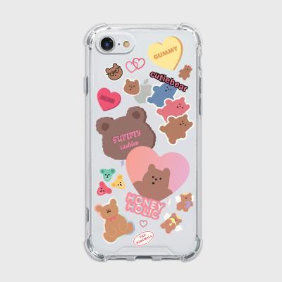 bear sticker pack [탱크투명 폰케이스]