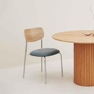 베네 우드 패브릭 철제 편한 식탁 사무용 의자