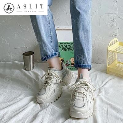 [애슬릿]메쉬 형광 여성 어글리 슈즈 운동화 5cm