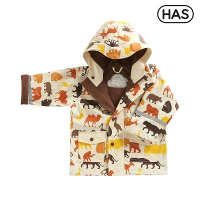 [HAS] 아동 레인코트_동물원