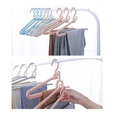 1단 바지걸이 양복바지걸이 옷걸이 옷장정리 3개세트