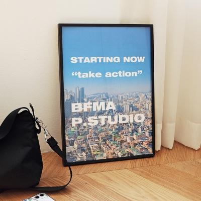 BFMA A4,A3 포스터 - 테이크액션