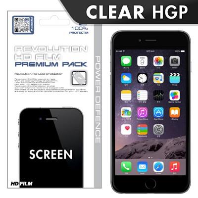 [프로텍트엠/PROTECTM] 아이폰6 플러스 iPhone6 plus 5.5인치 레볼루션HD 올레포빅 투명유광 액정보호필름