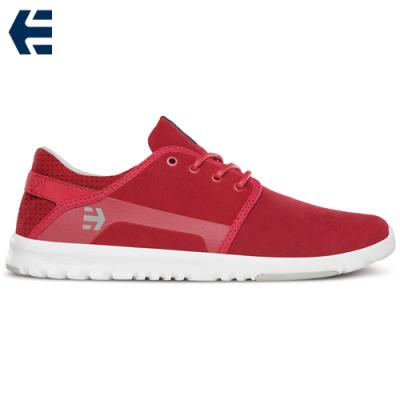 [Etnies] SCOUT X SUEDE PREMIUM (Red/Grey/White)