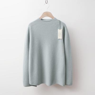 Laine Cashmere Wool Mini Turtleneck Sweater