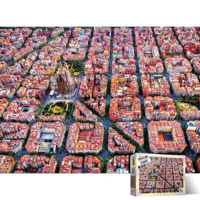 1000피스 직소퍼즐 바로셀로나 에삼플레 AL3007