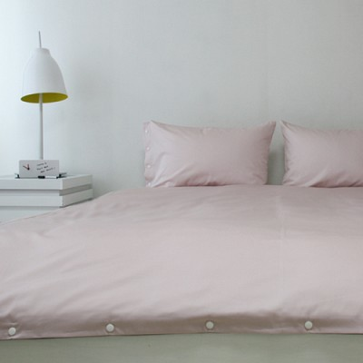 the snap bedding - pink/gray (Q)
