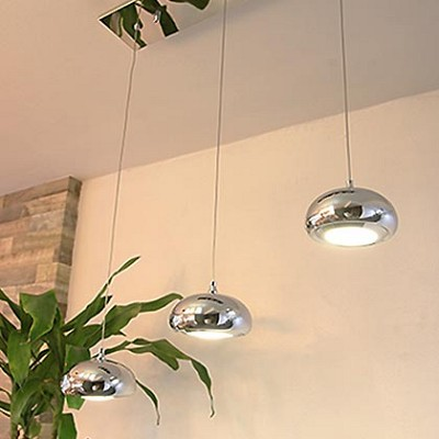 LED 심플 3등 팬던트