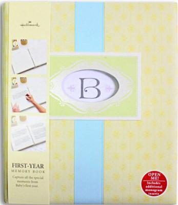 홀마크 베이비 메모리북 First Years Baby (BBA3801) - 첫 돌까지