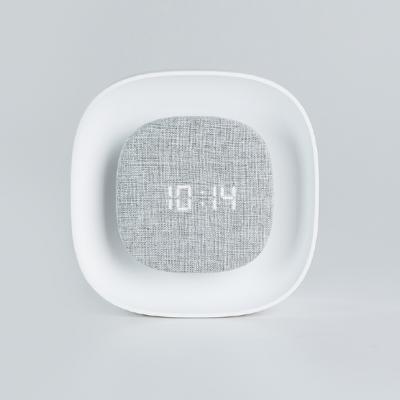 간소 무선 LED 무드등 시계