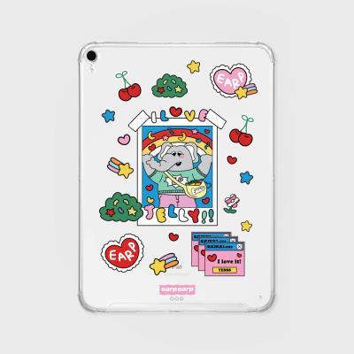 kkikki love jelly(아이패드-투명)