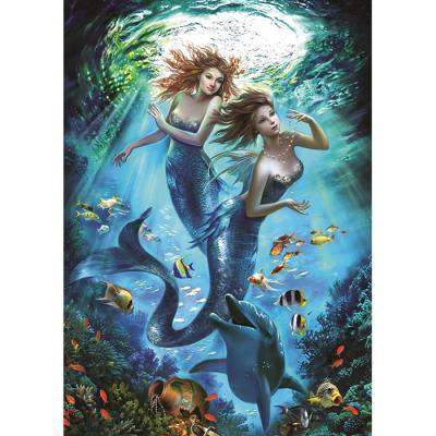 500피스 직소퍼즐 - 인어의 바다