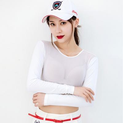 여성 골프 쿨 메쉬 탱크탑 티셔츠 이너 웨어 2size