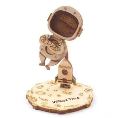 우주 비행사 (WDT190418) DIY 우드토이 3D 목재 퍼즐